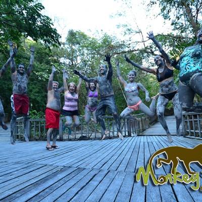Mud Bath Rincon de la Vieja Borinquen Hotel Costa Rica and Nicaragua Tour 94