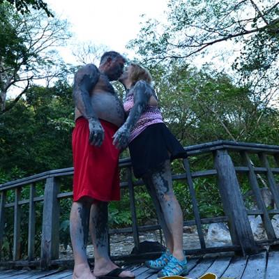 Mud Bath Borinquen Rincon de la Vieja Costa Rica and Nicaragua Guided Trip 94