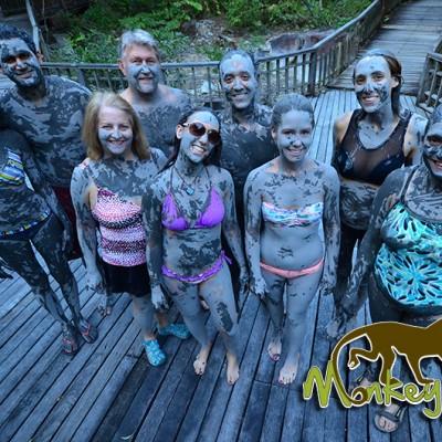 Mud Bath Borinquen Hotel Costa Rica and Nicaragua Trip 94