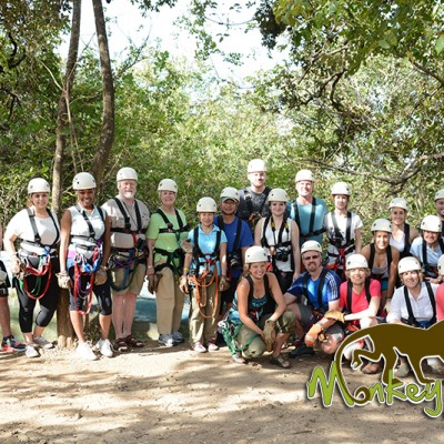 Hacienda Guachipelin Zipline Guanacaste Costa Rica Tour Group 153
