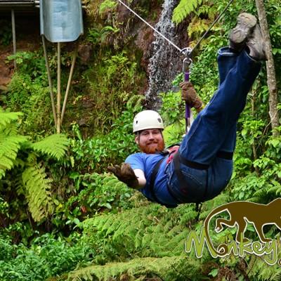 Zipline Tour Hacienda Guachipelin Costa Rica Adventure 154