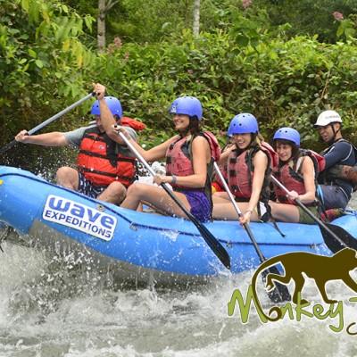 Balsa River Rafting Costa Rica and Nicaragua Getaway Trip 98