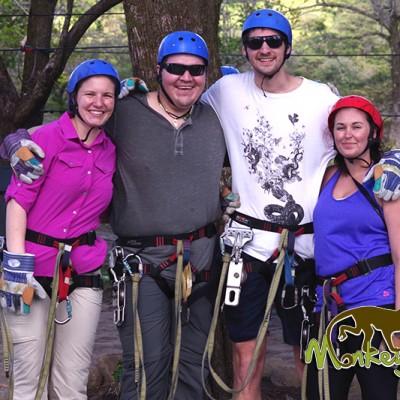 Zip lining Borinquen Hotel Costa Rica and Nicaragua Adventure Tour 99