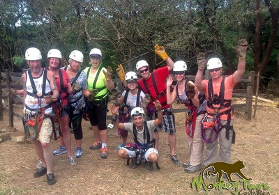 Zipline Canopy Hacienda Guachipelin Costa Rica Getaway 156